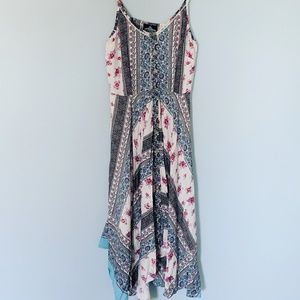 Angie Bohemian Handkerchief Dress